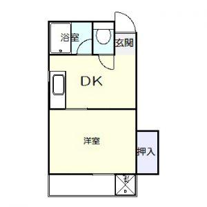 コーポ蓮華洋室202